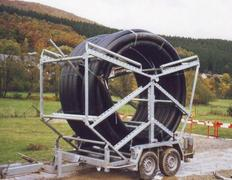 Rohrbund-Transportanhänger Nutzlast 1700 - 1800 kg