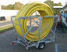 Rohrbund-Transportanhänger Nutzlast 900 - 1560 kg