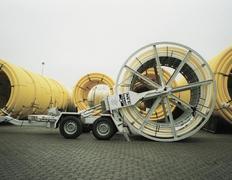 Rohrtrommel-Transportanhänger Nutzlast 2500 - 5800 kg
